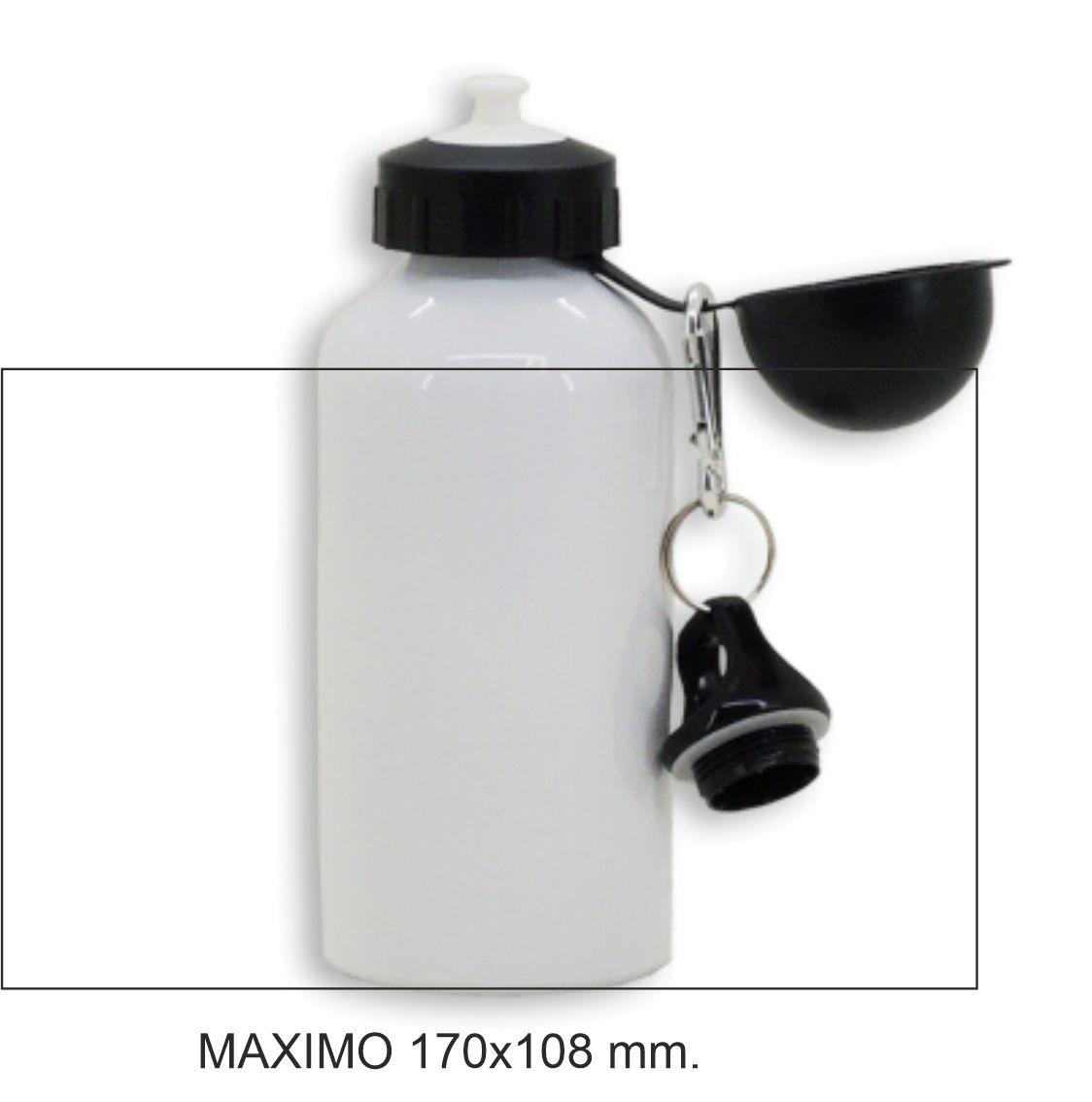 Botella 500 ml 2 tapones